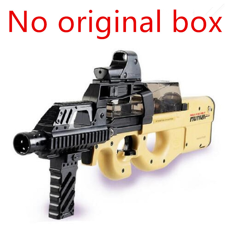 P90 Graffiti Edition Electric Game Toy Gun Soft Air Water Bullet Bursts Gun Live CS Assault Snipe Weapon Outdoors Toys 2018 electric plastic p90 graffiti edition toy gun soft water bullet toy gun outdoors live cs weapon tattoo water gun toys for kids