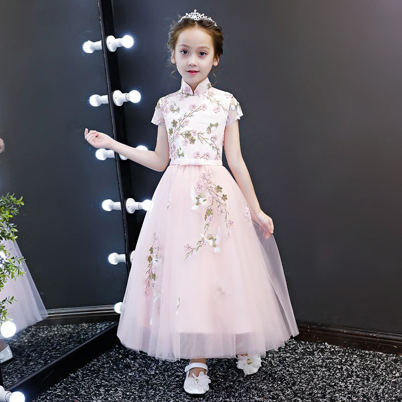 New Teenage Girls Mesh Embroidery Tutu Princess Dress Kids Dresses For Girls Wedding Party Toddler Girl Clothing Vestidos F101New Teenage Girls Mesh Embroidery Tutu Princess Dress Kids Dresses For Girls Wedding Party Toddler Girl Clothing Vestidos F101