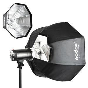 Image 4 - Godox UE 120cm Bowens Mount Octagon Umbrella Softbox soft box with Bowens Mount for Bowens Mount Studio Flash Light