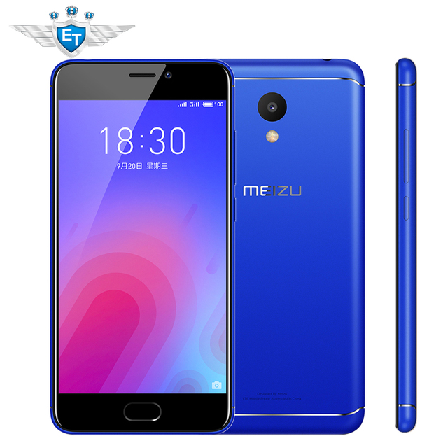Pre-sale Meizu M6 3GB 32GB Smartphone 5.2 Inch 1280x720 Screen MTK6750 Octa Core 13MP 3070mAh Battery Fingerprint Android 7.0