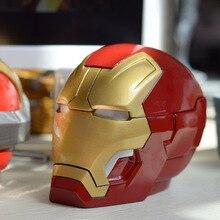 Iron Man Ashtray Assembly Model Transformation Robot Resin Ashtray Home Office Desktop Decoration