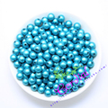 Hot Sell Free Shipping 500pcs/lot,8mm,Aqua Chunky Color Miracle Bead, Miracle Beads For Handmade Jewelry