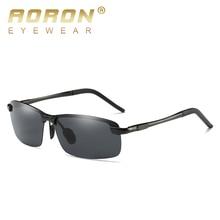 Aoro Polarized Sunglasses Men Women Mirrored Blue Pink Frog Sun Glasses Brand Designer Aviation Male UV400 Pilot Eyewear 3043