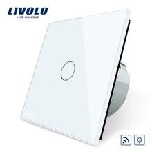 Interruptor Livolo Estándar de LA UE, Las Normas de la ue AC 220 ~ 250 V Remoto y Dimmer Interruptor de Luz de Pared, VL-C701DR-1/2/5