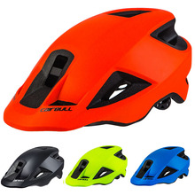 2018New 280g MTB All Mountain Bicycle Helmet Trail Cycling Bike Sports Safety Helmet Road Bike Cycling Helmet In-mold BMX Brim