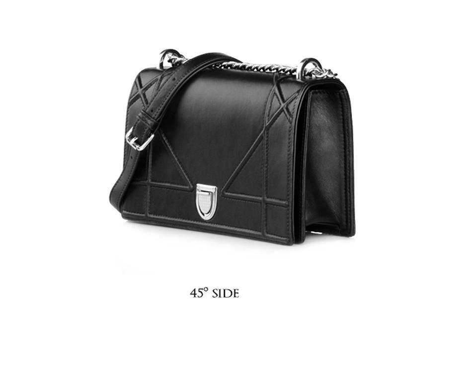 b4d914cf27 Famous Brand Women Bag Fashion Women Messenger Bags Rivet Chain Shoulder Bag  Top Quality Sheepskin Leather Crossbody Quiled BagsUSD 129.20 piece