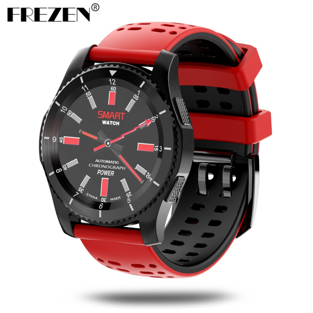 FREZEN GS8 Bluetooth Smart <font><b>Watch</b></font> <font><b>Sport</b></font> Wristwatch With Heart Rate Monitor <font><b>Pedometer</b></font> <font><b>Support</b></font> <font><b>SIM</b></font> Card For iOS AndroidSmart Phone