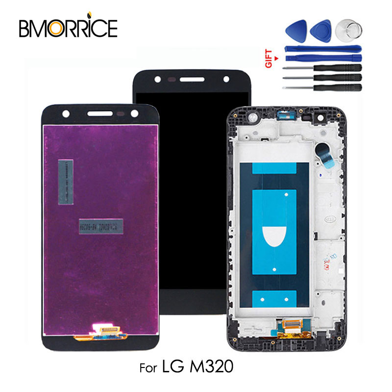 Mobile Phone Lcds Audacious Original Replacement For Lg X Power 2 M320 Lcd Screen Display Touch Glass Digitizer Assembly Parts With/no Frame Black+tools Good Reputation Over The World