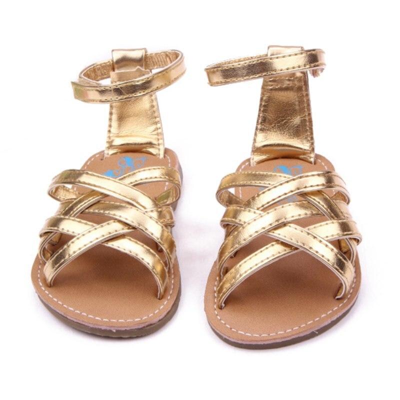 Neue kinder mädchen baby freizeit campagus stil sandalen sommer pu-leder kinder rutschfeste schuhe