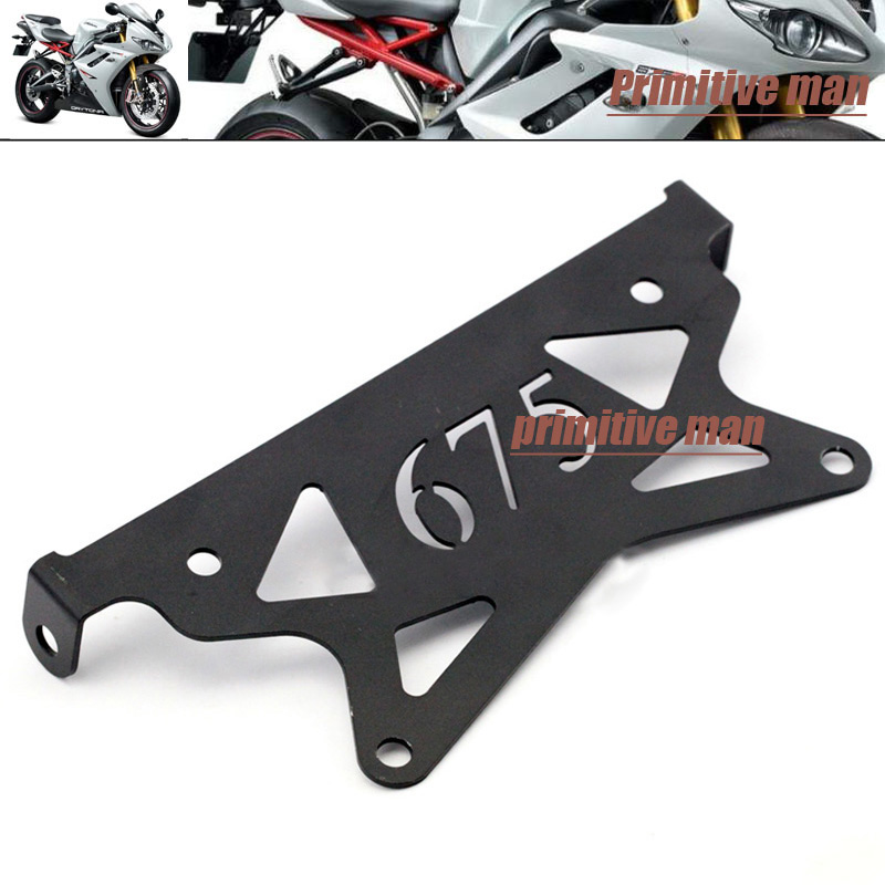 For TRIUMPH Daytona 675 2006-2012 Motorcycle Tail Tidy Fender Eliminator Registration License Plate Holder Bracket aftermarket free shipping motorcycle parts eliminator tidy tail for 2006 2007 2008 fz6 fazer 2007 2008b lack