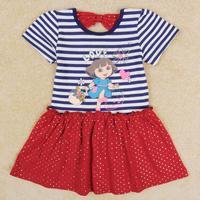 Bé gái dresses thương hiệu mới đáng yêu Dora in dresses for girls trẻ em mùa hè đảng dresses sinh nhật quần áo