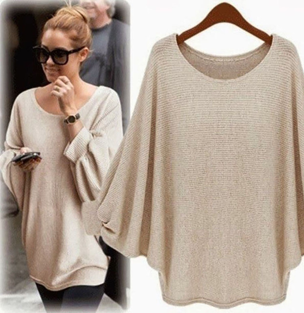 Aliexpress.com : Buy 2017 Autumn Oversized Sweaters Baggy Women ...