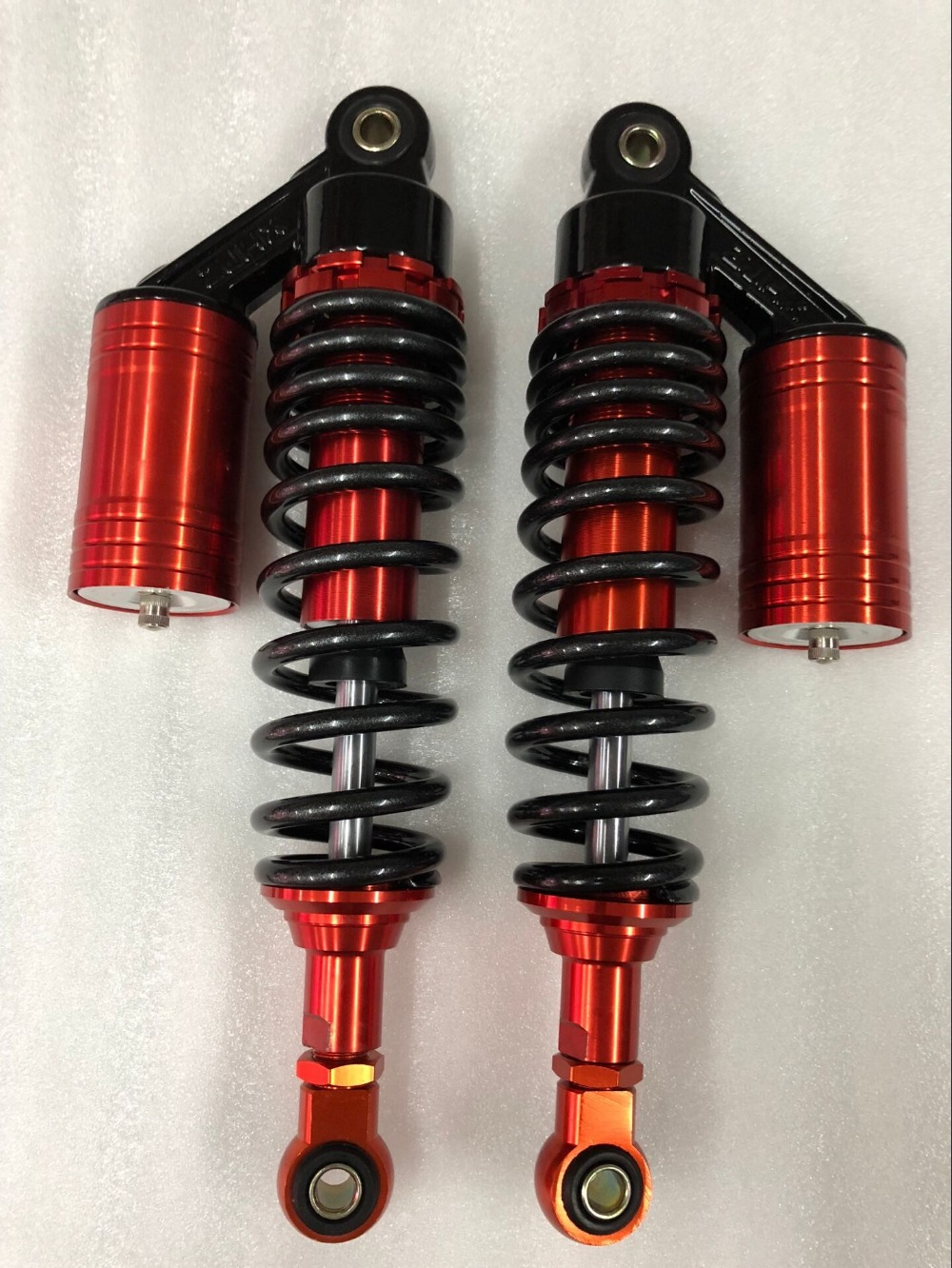 8mm spring Motorcycle 290mm/300mm /310mm Nitrogen Rear Shock Absorbers for Honda Yamaha suzuki Kawasaki Gokart Moped Quad ATV nitrogen spring nitrogen nitrogen spring spring mould maintenance inflatable new custom misumi
