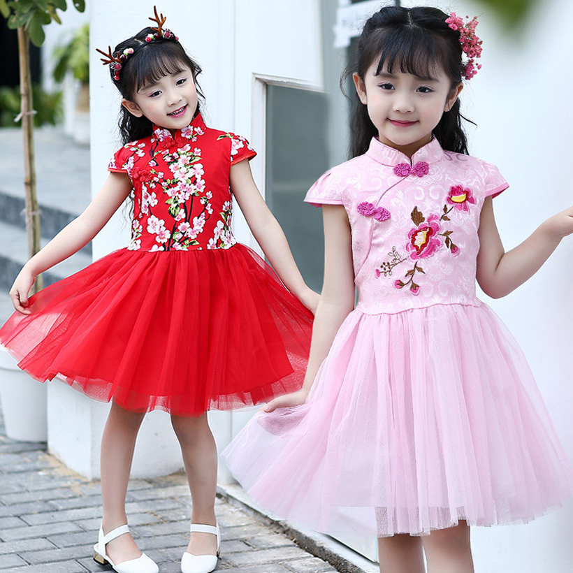 girls dresses flower party wedding summer girl dress princess 2017 toddler kids clothes clothing birthday for 3~14 year MC0164 girls dress summer 2017 ball gwon girl children clothing brand clothes solid kids for princess party wedding toddler dresses