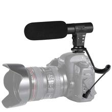 3.5mm Camera Microphone VLOG Photography Interview Digital Video Recording Microphone for Nikon Canon DSLR Camera dslr cemara microphone rode videomic go video camera microphone for canon nikon sony microphone rode go rycote video mic