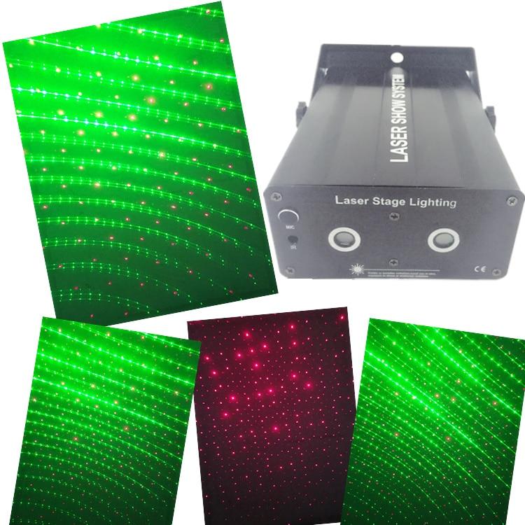 mini DJ laser light 300mw RG laser projector for ktv wedding home party event rg mini 3 lens 24 patterns led laser projector stage lighting effect 3w blue for dj disco party club laser