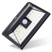 44 LED Solar Light Outdoor Waterproof Garden PIR Motion Sensor Solar Power LED Wall Light Emergency