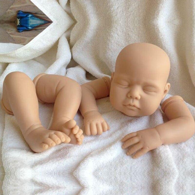 22inch Reborn Doll Kit Silicone Reborn Doll OT 5 Kits High Grade Reborn Imported Raw Materials