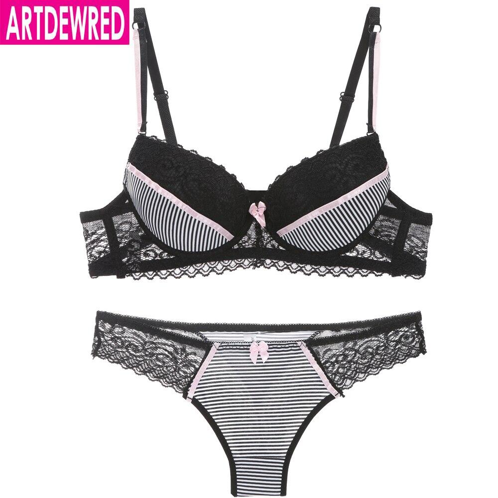 2019 intimates Sexy B C Cup Bra Brief Sets Luxury Lace Push Up Bra Set Women Underwear Set Girl brassiere fashion lingerie set