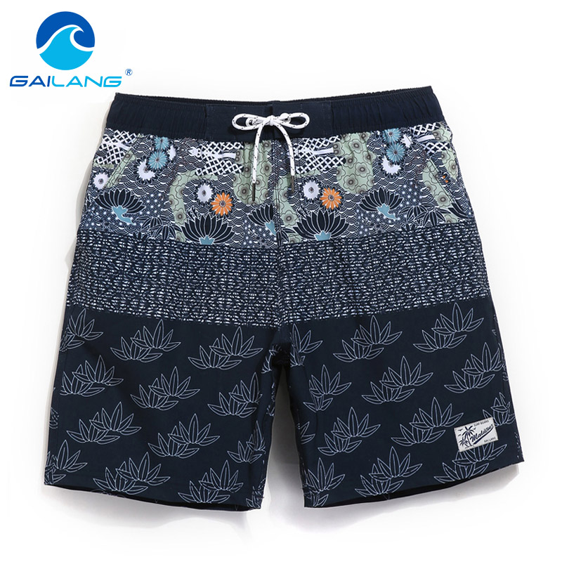 Gailang Brand Men Board Shorts Boxer Trunks Beach Shorts Swimwear Swimsuits Men's Bermuda Quick Drying Plus Big Size Boardshorts