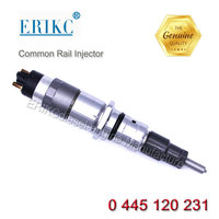 ERIKC diesel engine common rail injector 0445120231 auto engine complete injection nozzle 0 445 120231 / 0445120231