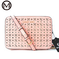 New Fashion Women Designer Bag MICKY Women Messenger Bags Rivet Chain Shoulder Bag High Quality PU Leather Crossbody