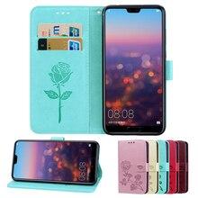 Phone Cases For Huawei P8 P9 P10 P20 P Smart Plus Z 2019 Lite Pro Mini PU Leather Wallet Back Flip Case Cover Bags