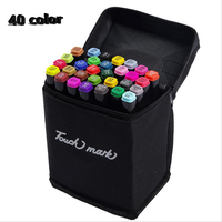 40colors Artist Double Headed Sketch Copic Marker Set 30 40 60 80 Colors Alcohol Based Manga