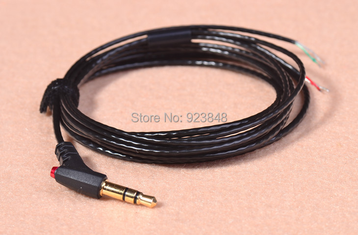 Diy earphone cable headphone wire Silver-plated headphone cable