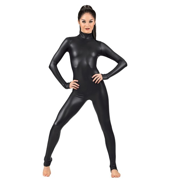 0d7206a0428b4 Aliexpress.com : Buy Women Long Sleeve Shiny Metallic Unitard Lycra Spandex  Full Bodysuit Dance Ballet Gymnastics Catsuit from Reliable gymnastics  catsuits ...