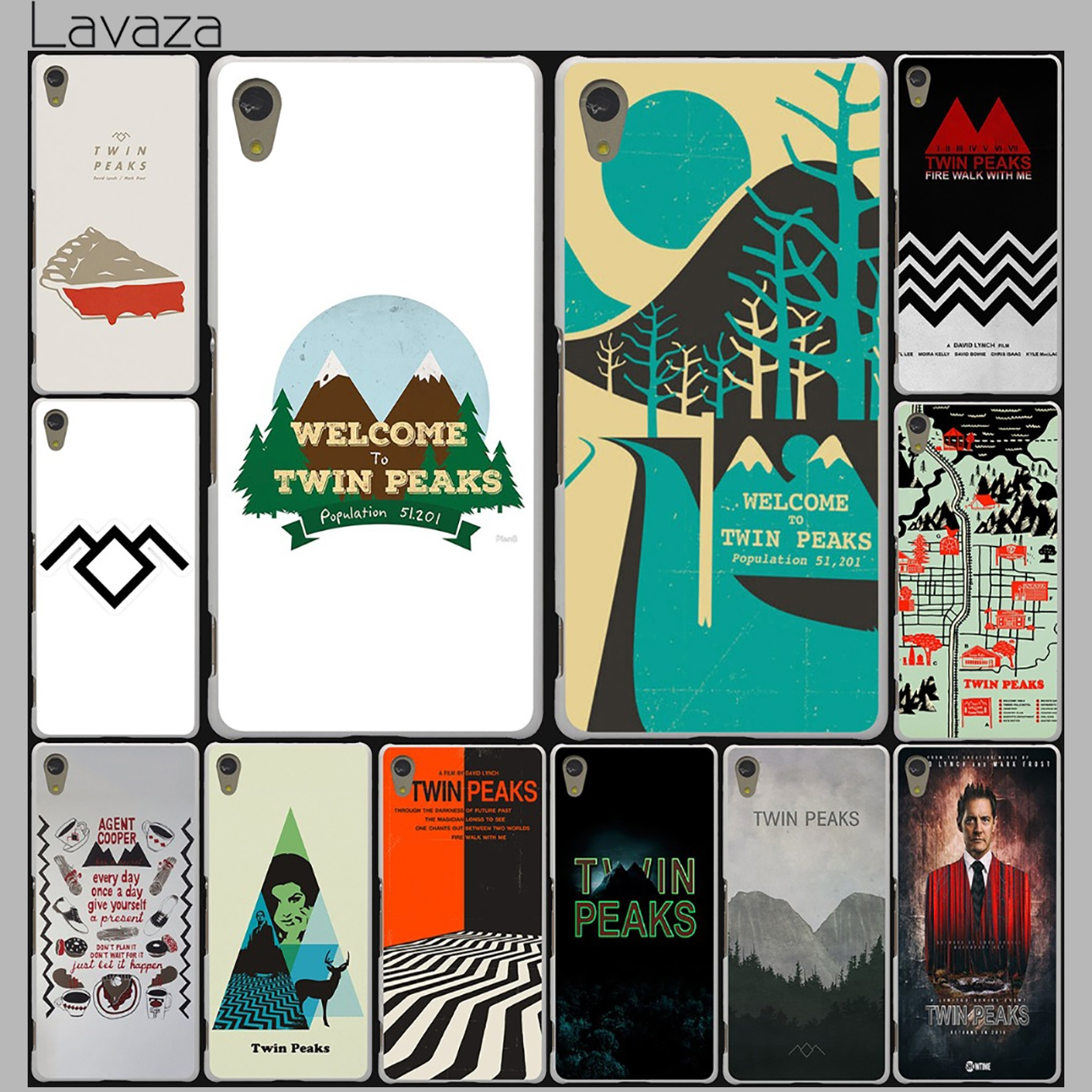 Lavaza Welcome To Twin Peaks Case for Lenovo Vibe K3 K4 K5 K6 Note A1000 A2010 S90 S850 S60 A536 A328 X3 Lite ZUK Z2 P1