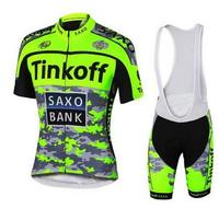 Cycling Wear Mens Maillot SaxoBank Tinkoff Cycling Jerseys Quick Dry Ropa MTB Ciclismo Clothing Breathable Sports Wear GEL PAD