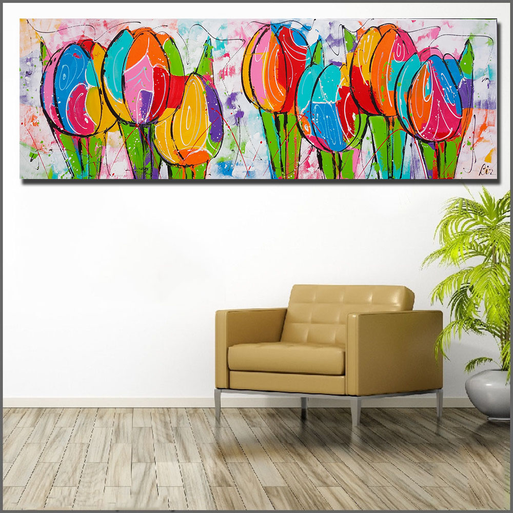 Large size Printing painting Wall Art Oil Painting ...