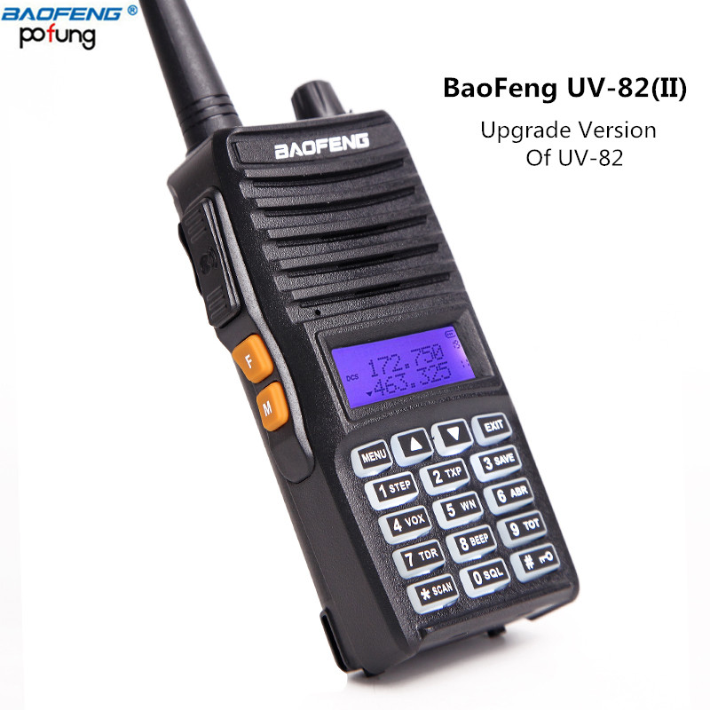 Baofeng UV 82 II True 8W High Power Upgrade Of UV 82 Tri Power 8W 4W
