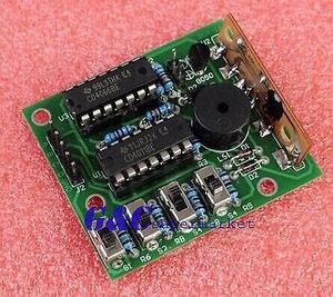 16 музыкальная шкатулка 16 звуковая коробка-16 16-тональная коробка электронный модуль DIY наборы электронный комплект