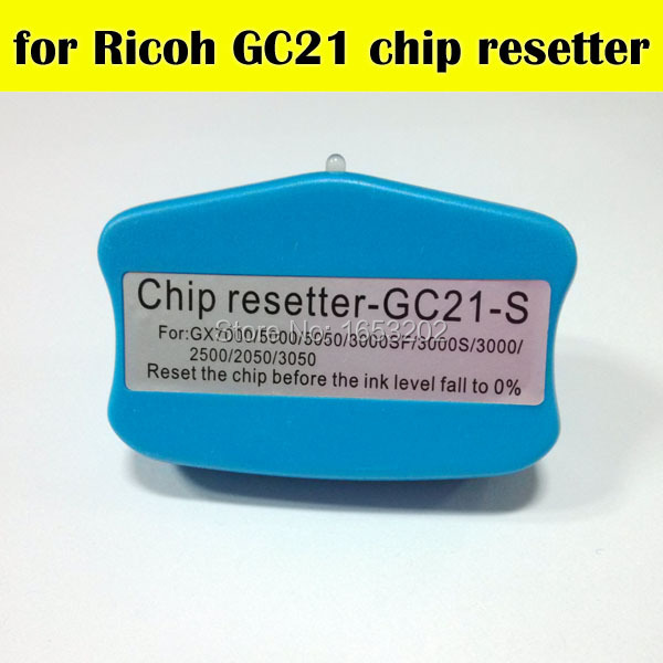 SELLING!! Chip Resetter For Ricoh GC21 Use For Ricoh GC21 Ink Cartridge