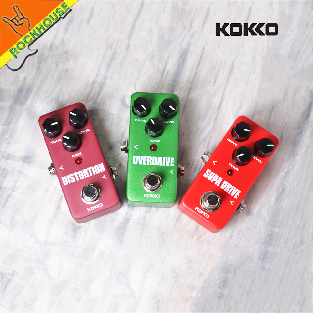 KOKKO Guitar Blues Overdrive Pedal Tube Distortion Effects Pedal Guitarra Drive Booster Rock Style True Bypass Free Shipping mooer ensemble queen bass chorus effect pedal mini guitar effects true bypass with free connector and footswitch topper