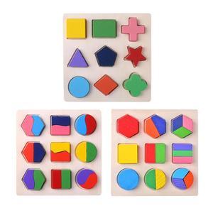 Children Wood Geometric Shapes