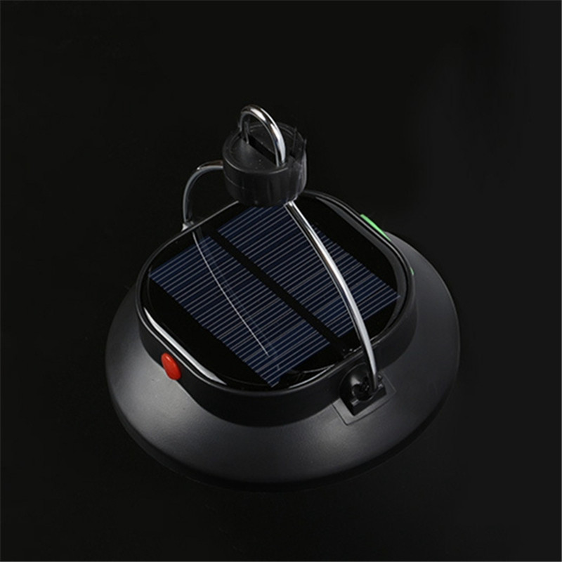 Mising Solar Powered Portable 12 LED Camping Hiking Tent Light Rechargeable Emergency Outdoor Night Lamp