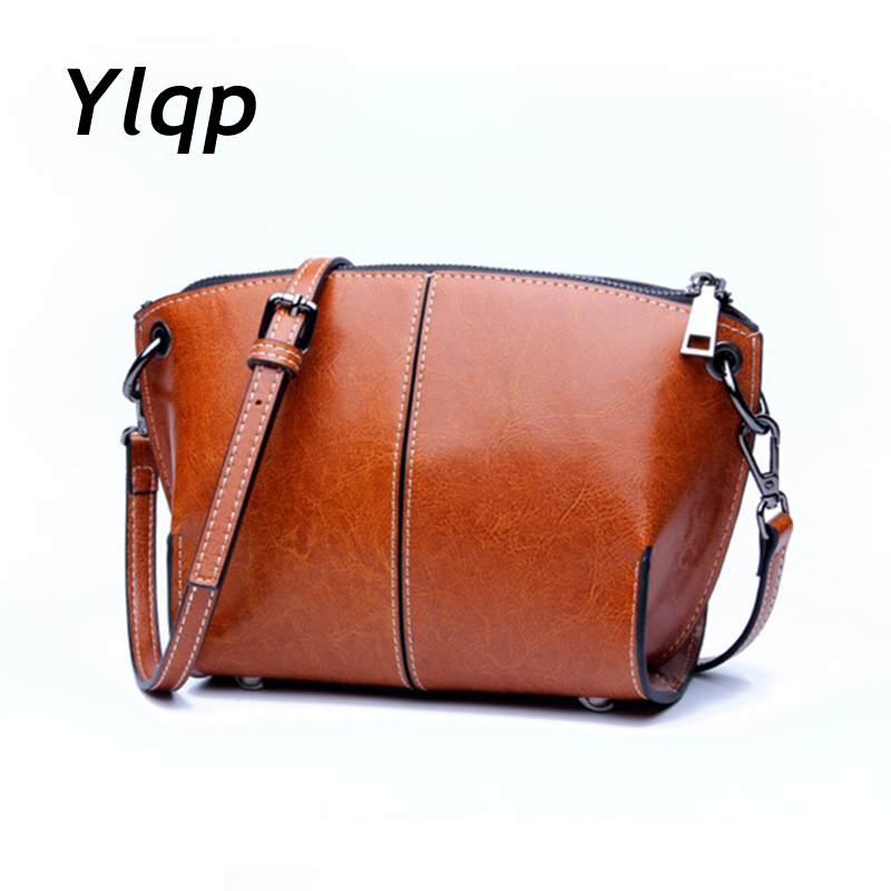 Luxury Leather Handbags for Women Crossbody Shoulder Bags Designer Small Clutch Purse Bag Female Cowhide Messenger Bags Ladies 2017 new female genuine leather handbags first layer of cowhide fashion simple women shoulder messenger bags bucket bags