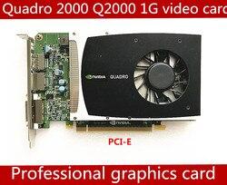 Высококачественная профессиональная видеокарта Quadro 2000 1G GDDR5 PCI-E 16X Q2000 1GB