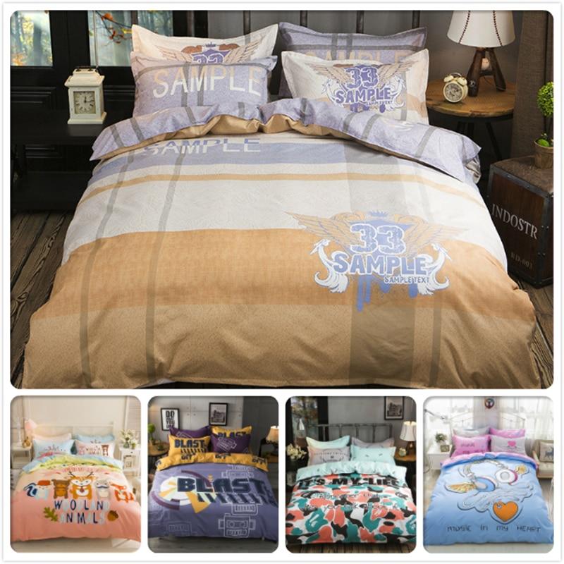 Power Source Faithful Bedlinen King Queen Twin Double Size Duvet Cover 1.5m 1.8m 2m Flat Sheet Bed Linens Kids Boy Girl 3/4 Pcs Bedding Set Bedclothes Distinctive For Its Traditional Properties