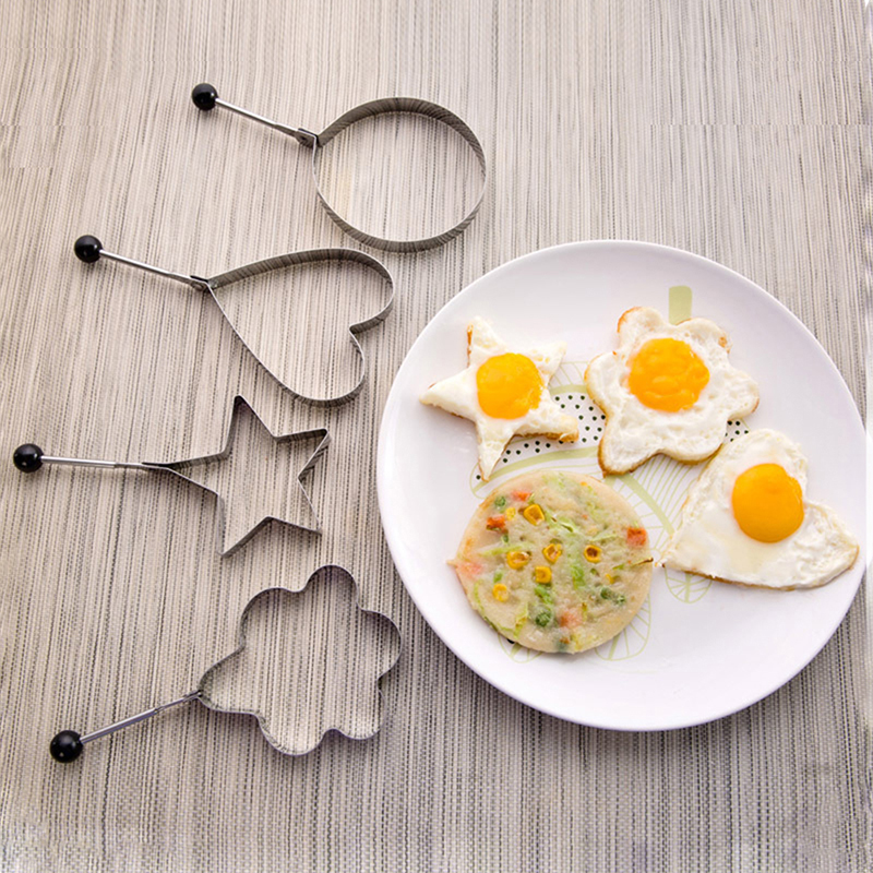 Mold Gadget Egg-Tools Kitchen-Accessories Pancake Shaper Tortilla Cooking Omelette Stainless-Steel