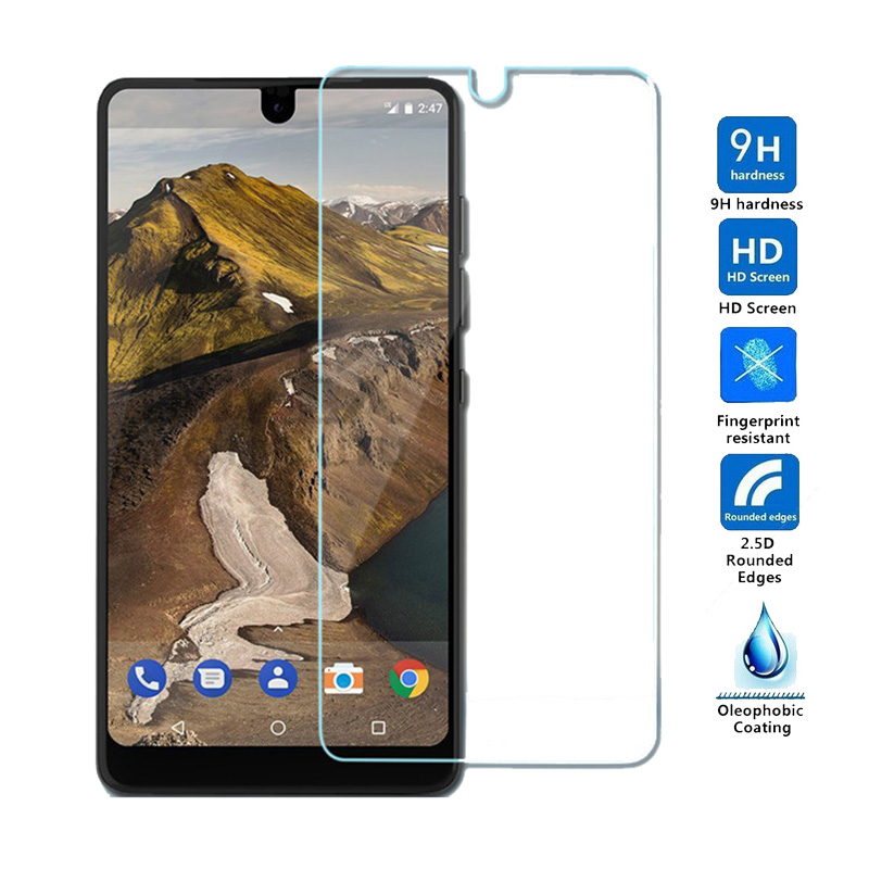 2.5D Not 100% Cover Tempered Glass For Essential Phone PH-1 Glass 5.7' Screen Protector Anti-Scratch Film for Essential Ph1 PH 1(China)