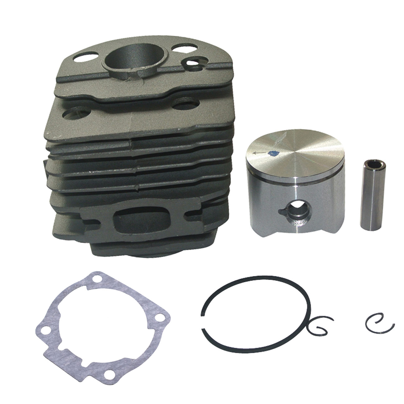 45mm Engine Motor Cylinder Piston Rings Kit For Husqvarna 55 51 50 Chainsaw
