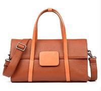2018 новый стиль женские Натуральная кожа Коускин дорожная сумка мягкая модная сумка