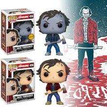 FUNKO POP parlayan Jack Torrance aksiyon figürü oyuncakları JACK TORRANCE kış kar Model koleksiyon hediye toplayıcı Fan oyuncaklar
