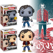 Funko Pop De Shining Jack Torrance Action Figure Speelgoed Jack Torrance Winter Sneeuw Model Collectibles Gift Voor Collector Fan Speelgoed