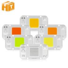hot deal buy 4pcs/lot cob led bulb chip ac220v 20w 30w 50w smart lingt  white/ warm white flood light lamp ic diy led light outdoor lighting
