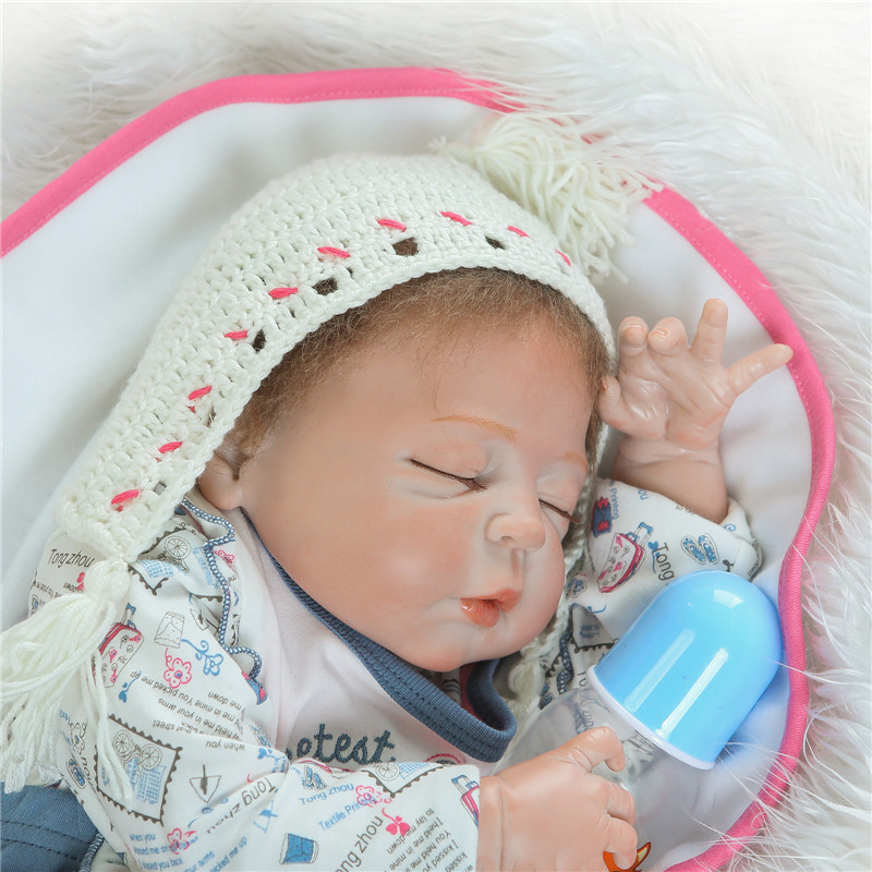 baby dols for kids gift bebe alive reborn bonecas 22 real sleeping